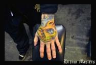 Svetlyo , Custom fantasy realistic skull hand finished