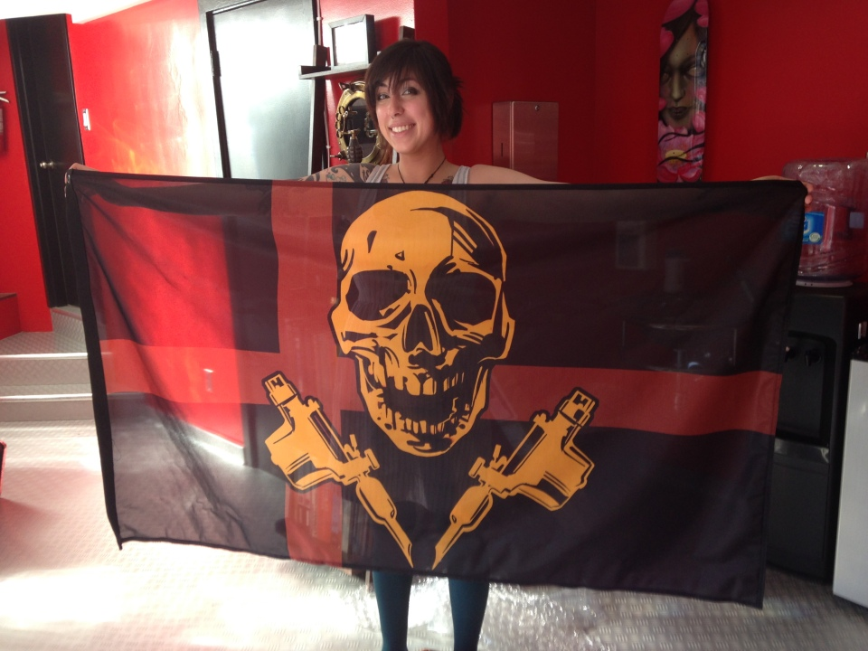 Our new flags