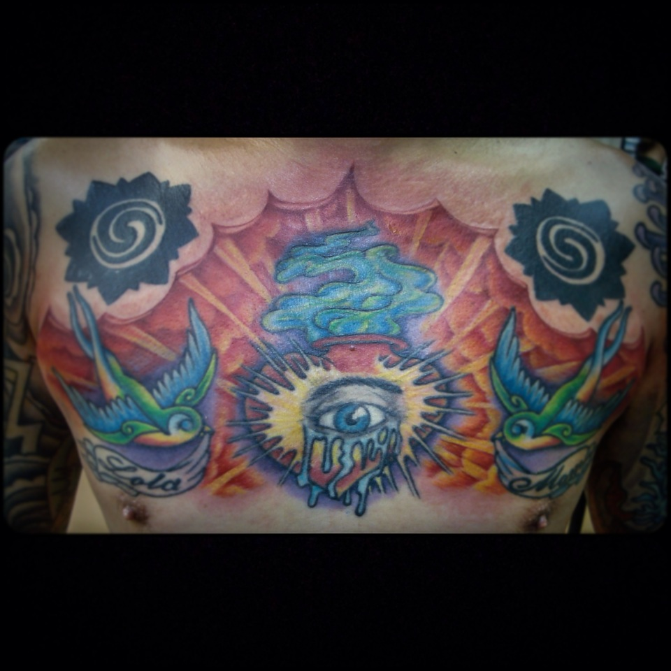 Dave's awesome color work